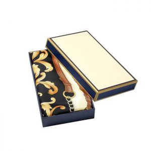 High Quality Luxury Paper Packaging Scarf Gift Box With Lid And Bottom2