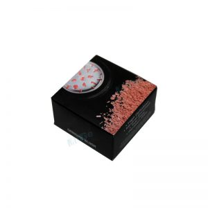 High Quality Paper Cosmetic Blush Box With Pvc Window1