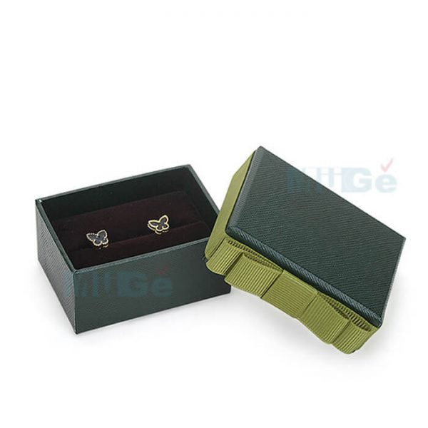 Hot Sale Top And Base Jewelry Box Custom Earring Boxes3