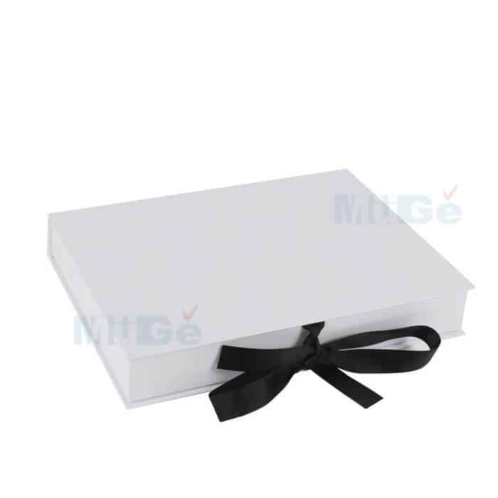 Wedding Gown Preservation Boxes: Luxury Cardboard Magnetic Wedding Dress Storage Box With