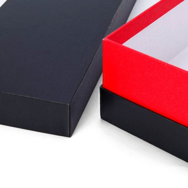 Luxury Cardboard Paper Type Packaging Top And Base Necklace Box4