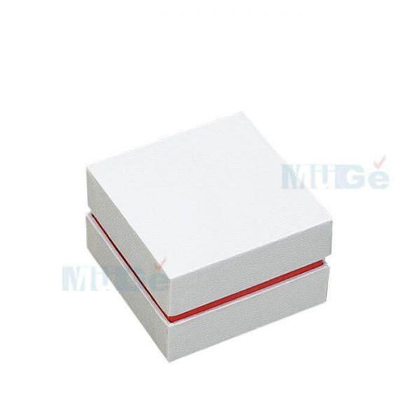 Luxury Jewelry Custom Cardboard White Packaging Top Base Box1