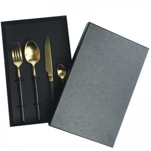 Luxury Knife And Fork Tableware Storage Box Packaging Rigid Paper Box1