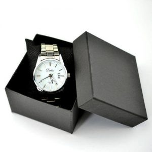 Luxury Watch Paper Packaging Stamping Logo Watch Box1