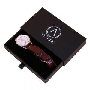 Luxury Watch Paper Packaging Stamping Logo Watch Box2