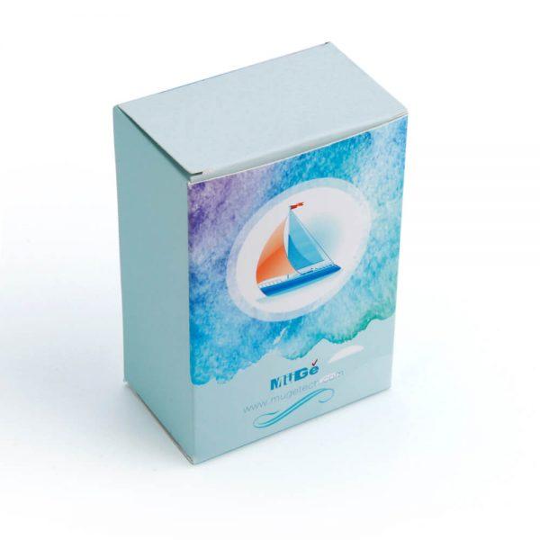 Muge Cosmetic Recycle Paper Packaging Custom Card Box1
