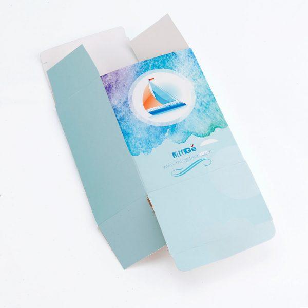 Muge Cosmetic Recycle Paper Packaging Custom Card Box4