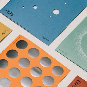 Muge Custom Creative Color Printed Paper Card1
