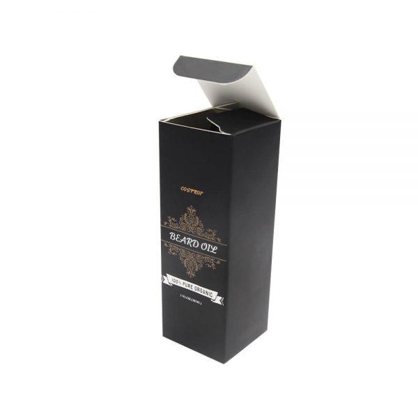 Wholesale Classic Printed Paper Beard Oil Packaging Box3