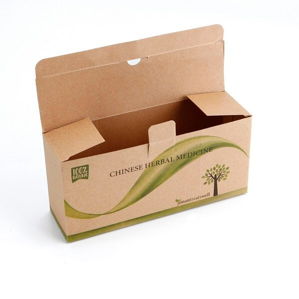 Wholesale High Quality Medicine Kraft Paper Packaging Box2