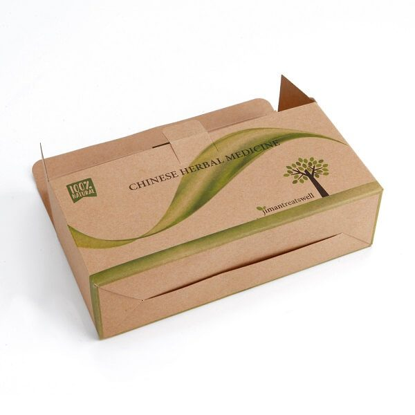 Wholesale High Quality Medicine Kraft Paper Packaging Box3