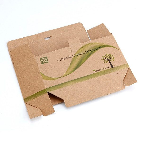 Wholesale High Quality Medicine Kraft Paper Packaging Box4
