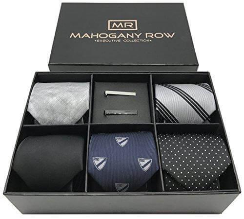 Wholesale Luxury Cardboard Paper Packaging Tie Set Box1