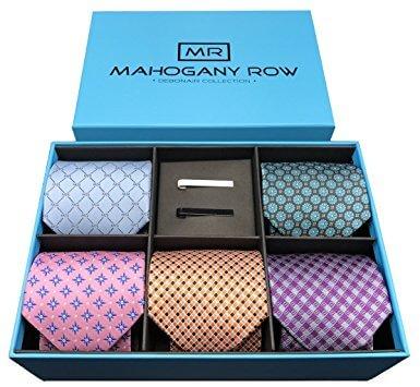 Wholesale Luxury Cardboard Paper Packaging Tie Set Box2