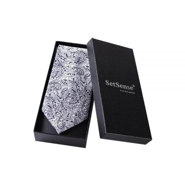 Wholesale Luxury Cardboard Paper Packaging Tie Set Box3