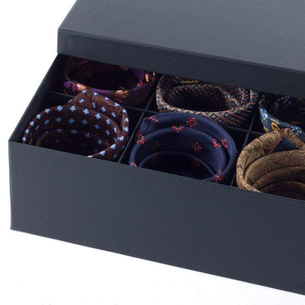 Wholesale Luxury Cardboard Paper Packaging Tie Set Box4