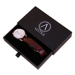 Wholesale Stamping Logo Cardboard Luxury Watch Gift Box1