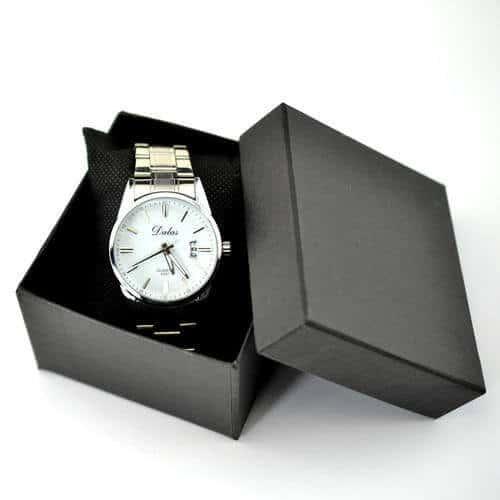 Wholesale Stamping Logo Cardboard Luxury Watch Gift Box4