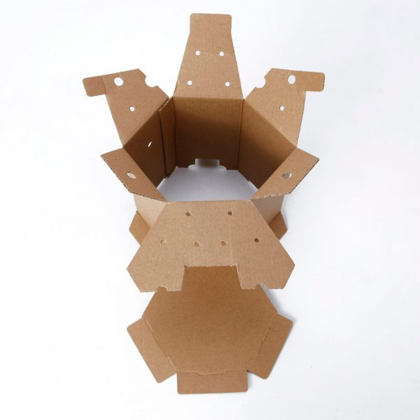 Hexagon Corrugated Box Wholesale2