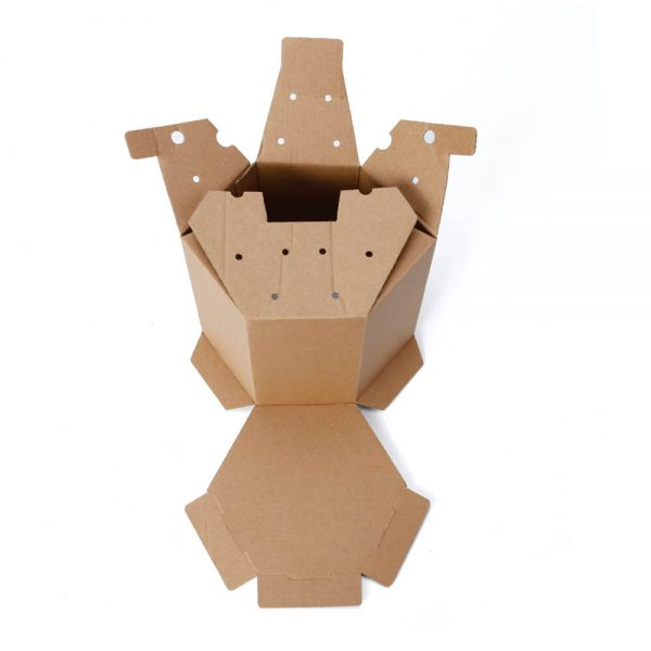 Hexagon Corrugated Box Wholesale4