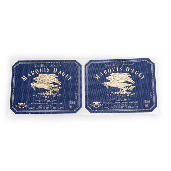 Custom Gold Foil Stickers1