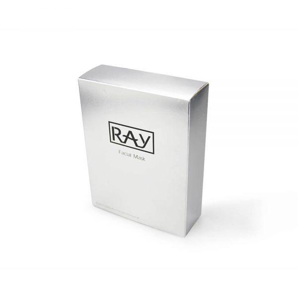 Custom Silver Cardboard Box1