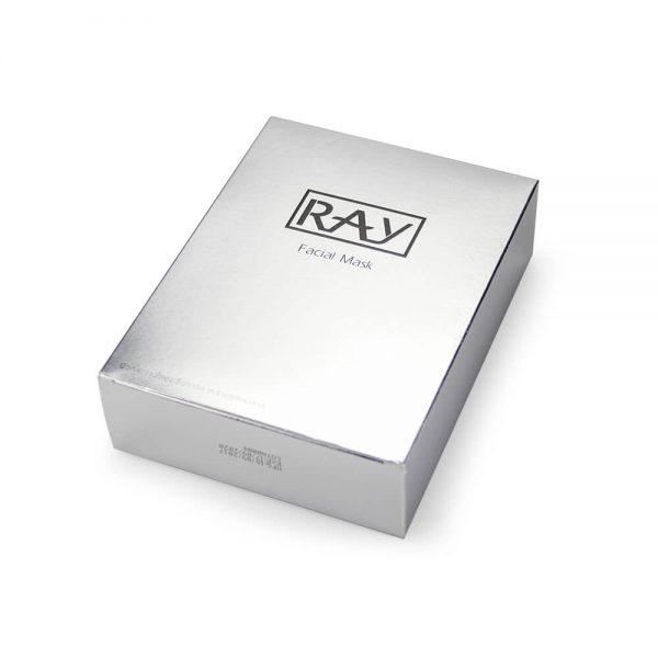 Custom Silver Cardboard Box2