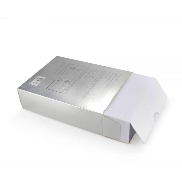 Custom Silver Cardboard Box3