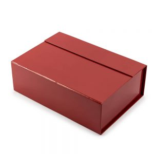 Red Collapsible Rigid Box1