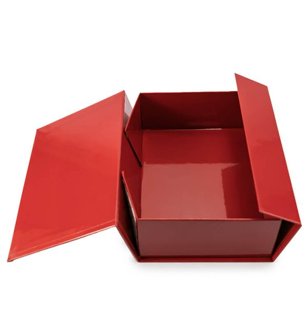 Red Collapsible Rigid Box2