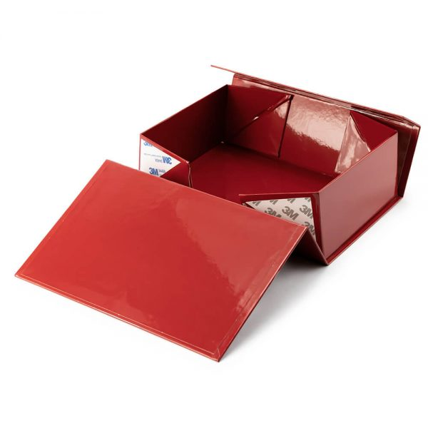 Red Collapsible Rigid Box3